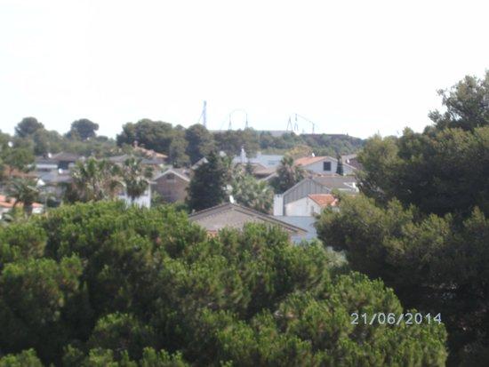 MedPlaya Piramide Salou: view from room 333