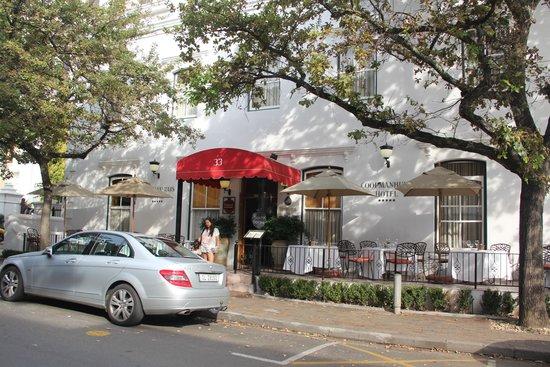 Coopmanhuijs Boutique Hotel & Spa: entrada do hotel