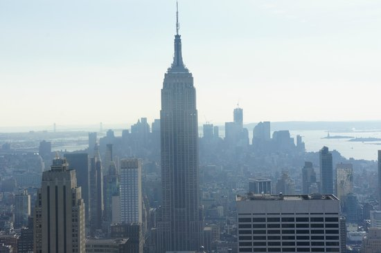 Top of the Rock Observation Deck: The best view of the Empire State Building