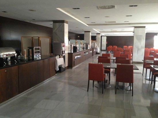Eurostars Toledo: Dining room