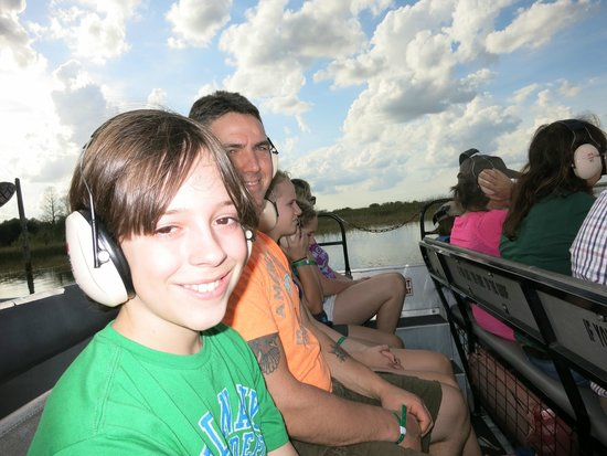 Boggy Creek Airboat Rides: A great ride
