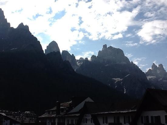Hotel Cima Rosetta: vista dalla stanza