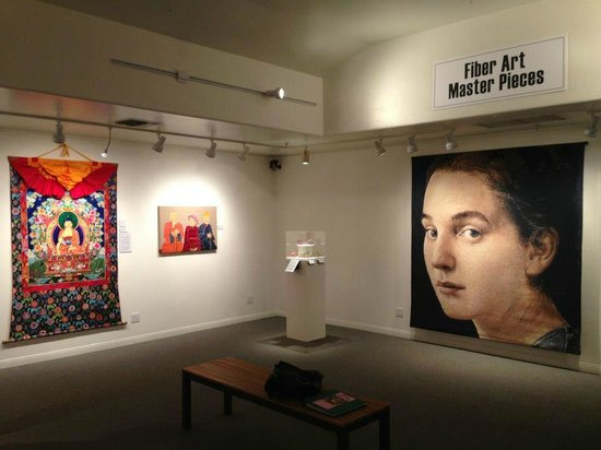 """Ojai Valley Museum of History and Art: """"Fiber Art Master Pieces"""" past exhibit, Rotating Gallery."""