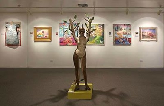 Ojai Valley Museum of History and Art: Ojai Studio Artists, past exhibition, Rotating gallery.