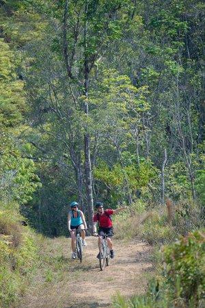 Hidden Valley Inn: Biking 90+ miles of Private Reserve