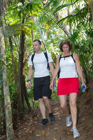 Hidden Valley Inn: Hiking to over a dozen cascades