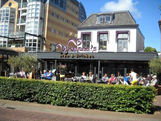 Wonder's eten & drinken: (heated) terrace of Wonder's