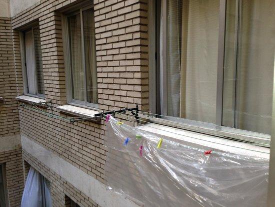 Apartamentos Juan Bravo: Vue de la chambre... Choisissez vue piscine