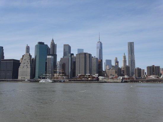 Manhattan Skyline: Manhattan from Brooklyn