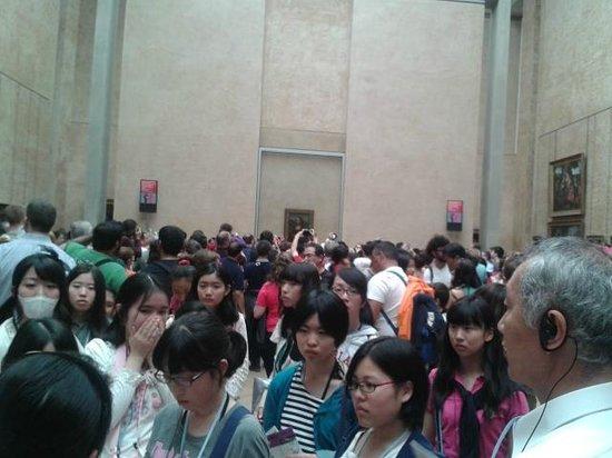 Musee du Louvre: Boa sorte ao tentar ver a Mona Lisa