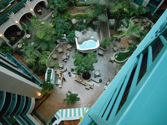 Embassy Suites by Hilton Miami - International Airport : View from outside room