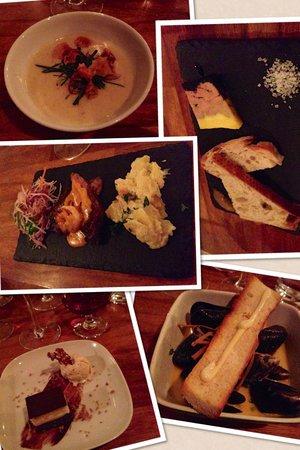 Tight: Five course tasting menu