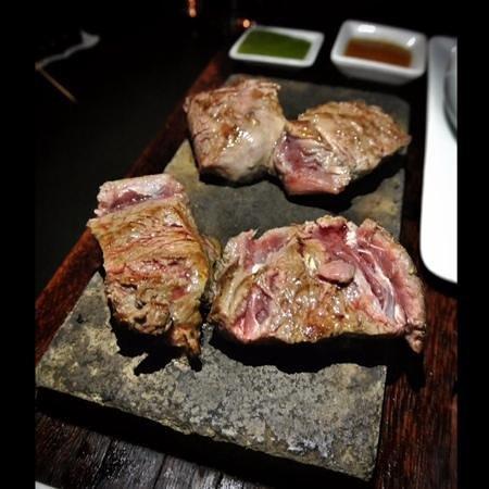 Uchu Peruvian Steakhouse: stone cooked Lamb