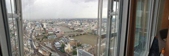 Shangri-La Hotel, At The Shard, London: Room View