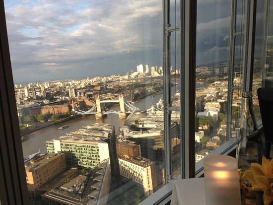 Shangri-La Hotel, At The Shard, London: View from room