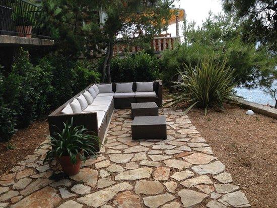 Villa pod borom: Lounge
