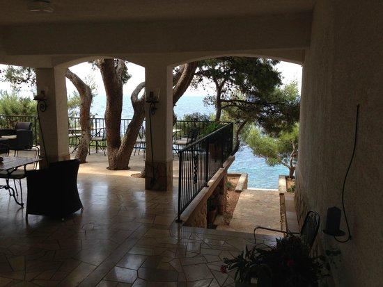 Villa pod borom: Meerzugang