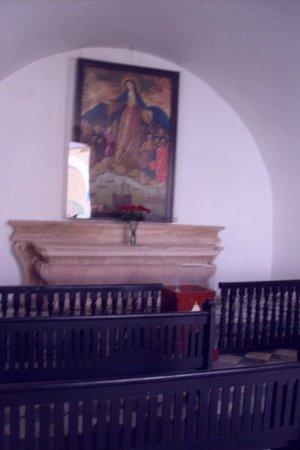 Castillo San Felipe del Morro: Chaple of calm