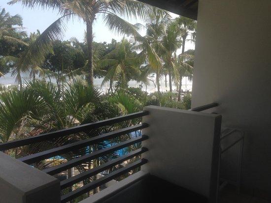 Legong Keraton Beach Hotel: balcony view