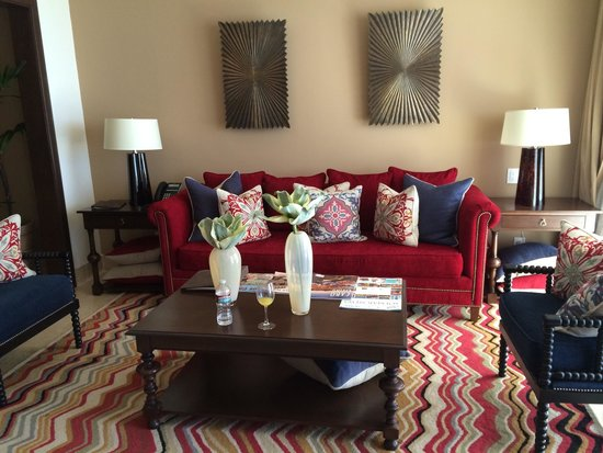 Grand Solmar Land's End Resort & Spa: Living room in the one bedroom suite