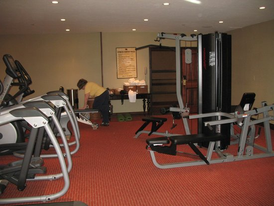 The Lodge at Jackson Hole: The fitness center