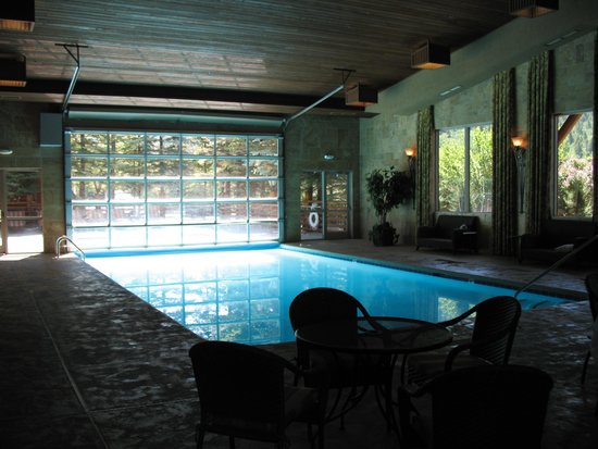The Lodge at Jackson Hole: the pool.