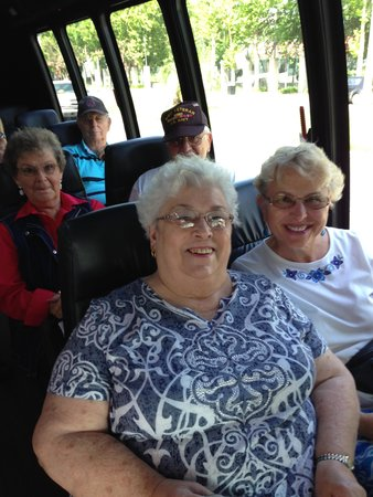 Our Fairwood Retirement Spokane Group touring with Tours By Isabelle in New Orleans!