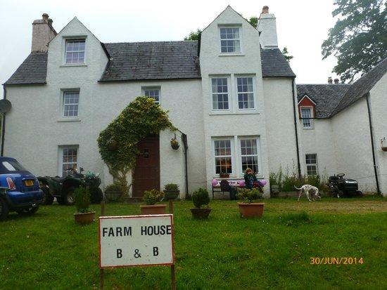 The Farm House B&B: Brian's farm