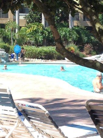 Holiday Inn Club Vacations At Orange Lake Resort: Main pool near reception
