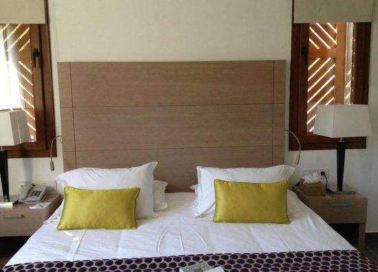 Club Med Palmiye: Nouvelle chambre villagio : excellente literie