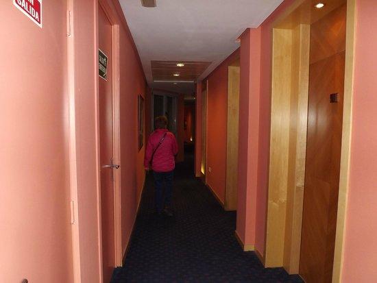 Senator Parque Central Hotel: Pasillo