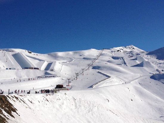 Cardrona Alpine  Resort: the main chair lift
