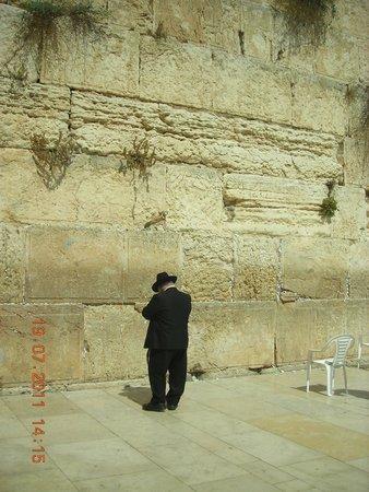 Mur des lamentations : prière