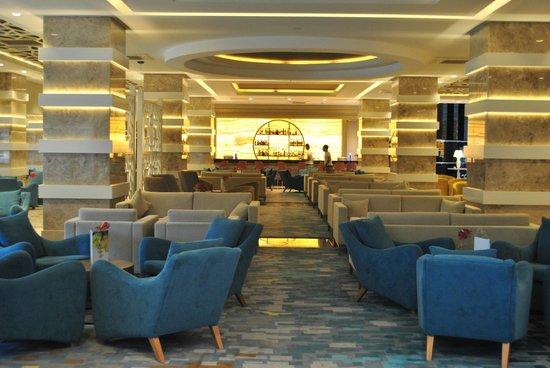 Papillon Ayscha Hotel: Lobby bar
