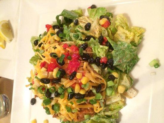Sharps Roasthouse: Pulled Meat Salad