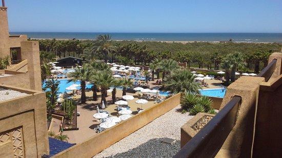 Iberostar Isla Canela: Hotelgarten
