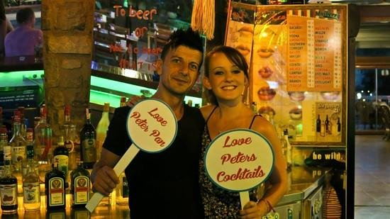 Hotel Bagevleri: bar fun - we love peters cocktails!