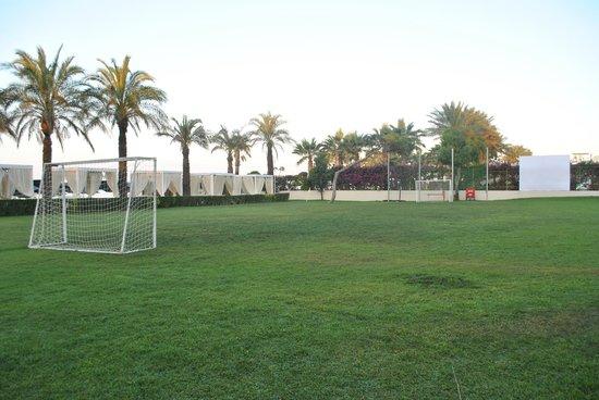 Papillon Ayscha Hotel: Footbal field