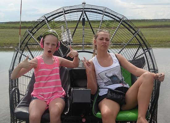 Wild Willy's Airboat Tours: Great ride!