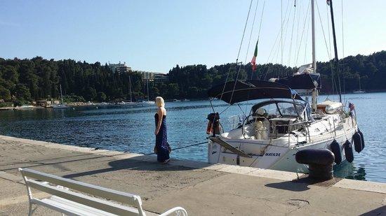 Hotel Croatia Cavtat : Hamnen