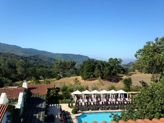 Ojai Valley Inn & Spa: View from deck of mini-Suite #272