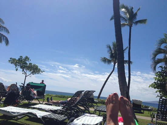 Marriott's Maui Ocean Club  - Lahaina & Napili Towers: Outside my villa