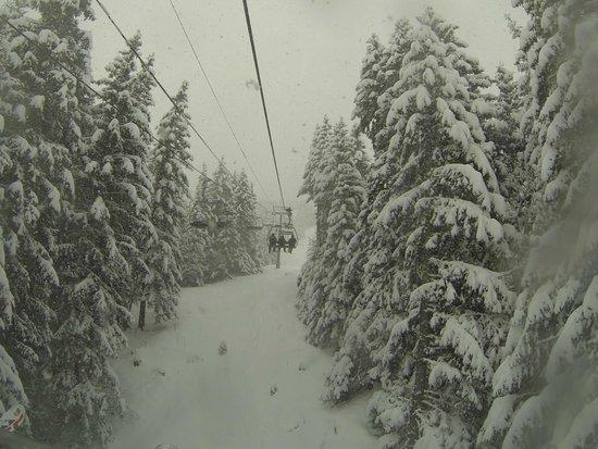 Domaine Skiable de Saint-Gervais : another chairlift