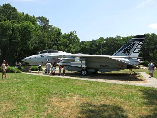 Naval Air Station Oceana One Of The Planes In Park
