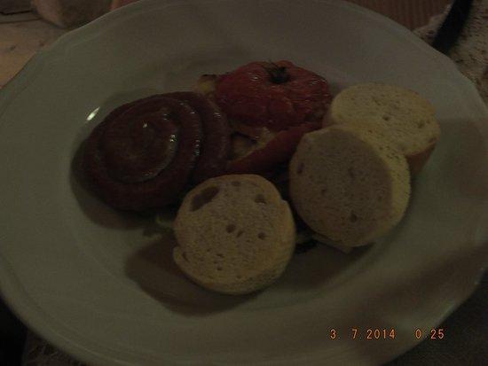 Pensjonat I Domki Javorina : Sausage