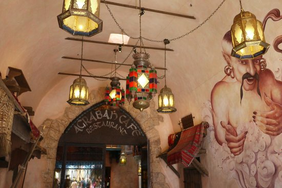 Agrabah Cafe