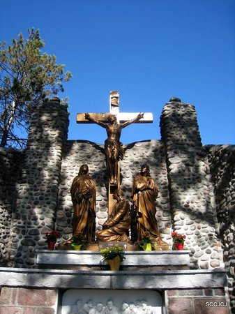 Martyrs' Shrine: One of the station of Passion of Christ