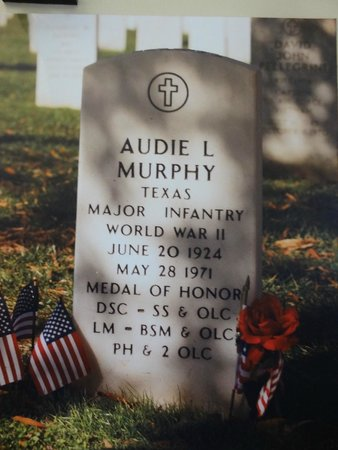 Arlington National Cemetery: On display.