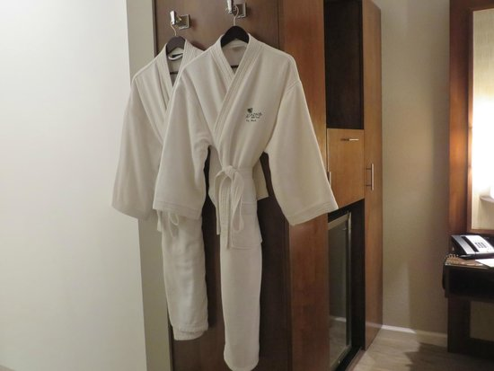 Almond Tree Inn: Luxurious robes
