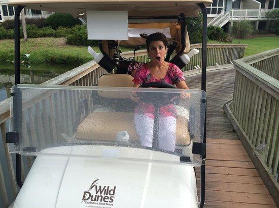 Wild Dunes Resort: Golf cart in great condition